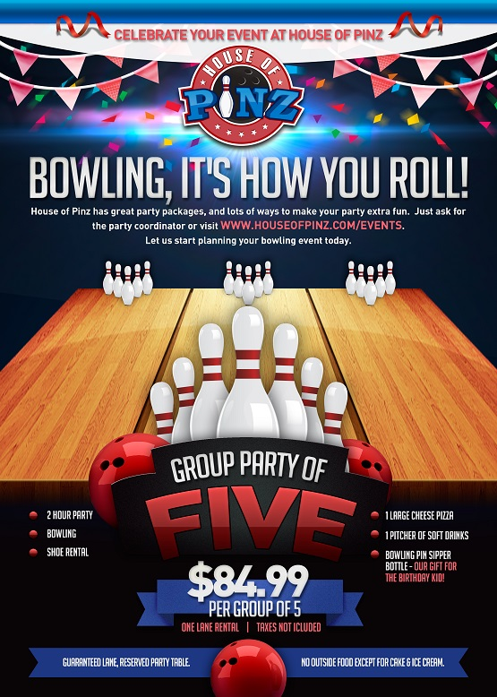Plan Your Event at House of Pinz - Best Bowling Center in Douglas, WY
