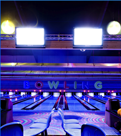 Cosmic Bowling Views of the Best Bowling Alley in Douglas - House Of Pinz