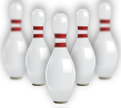 Bowling Pins of Best Bowling Alley in Douglas - House of Pinz
